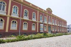 Фасад Palacete Provinical (захолустная усадьба) Стоковые Изображения RF