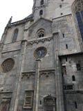 Фасад St Stephen & x27; церковь s, вена, Австрия Стоковое Изображение
