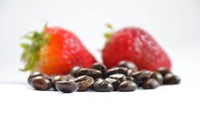Фасоли и ягоды стоковые изображения rf