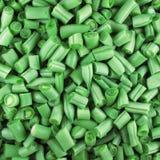 фасоли прервали зеленый цвет Стоковые Изображения RF