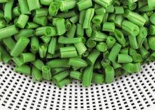 фасоли прервали зеленый цвет Стоковые Фото