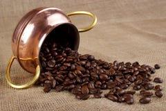 Фасоли чашки кофе Стоковое Изображение RF