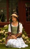 фасонируемая девушка старая Стоковые Фото