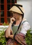 фасонируемая девушка старые детеныши Стоковые Фото