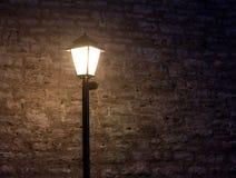 фасонируемая светлая старая улица Стоковые Фото