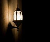 фасонируемая светлая старая улица Стоковое Фото