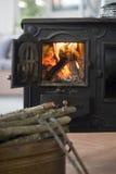 фасонируемая старая печка Стоковые Изображения