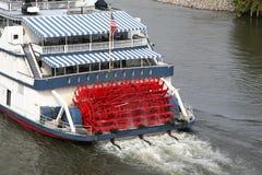 фасонируемое старое река paddleboat Стоковые Фотографии RF