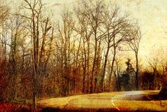 фасонируемый ландшафт старый иллюстрация штока