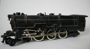 фасонируемый модельный старый поезд Стоковые Фотографии RF