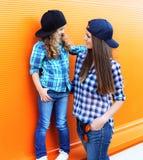 Фасонируйте концепцию семьи - ребенок матери и дочери Стоковые Фото