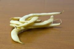 Фасоли желтого стручка, вида завода Стоковая Фотография RF