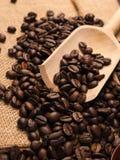 фасоли закрывают кофе вверх стоковое изображение