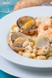 Фасоли и clams Стоковые Изображения