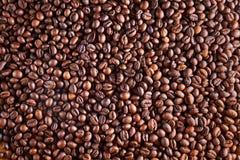 фасоли предпосылки закрывают coffe вверх Стоковые Фото