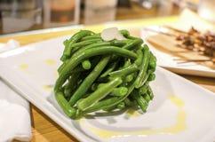 Фасоли Fagiolini зеленые Стоковое фото RF