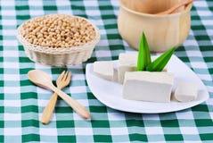 Фасоли Tofu и сои Стоковые Фото