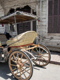 Фаэтоны нарисованные лошадью, принцы Остров Buyukada, Турции Стоковая Фотография