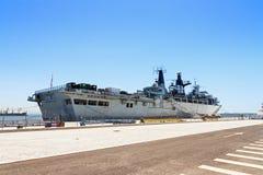 Фальшборт HMS стоковые изображения