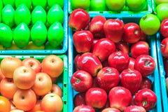 Фальшивка плодоовощ стоковая фотография rf
