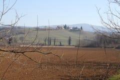 Февраль в Тоскане Стоковая Фотография