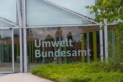 Федеральное агенство окружающей среды в Dessau стоковое фото rf