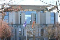 Федеральное ведомство канцлера Берлин Deutschland Германия стоковое изображение