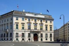 Федеральное ведомство канцлера в вене - Австрии стоковая фотография rf