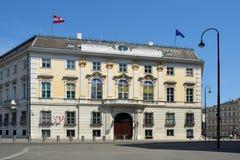 Федеральное ведомство канцлера в вене - Австрии стоковые изображения rf