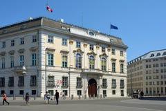 Федеральное ведомство канцлера в вене - Австрии стоковые изображения