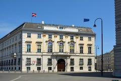 Федеральное ведомство канцлера в вене - Австрии стоковые фотографии rf