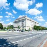 Федеральное здание комиссии следа Стоковые Фотографии RF