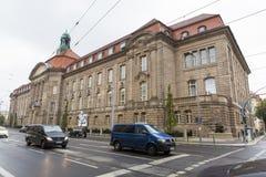 Федеральное министерство здания экономики и технологии от Берлина стоковые фотографии rf