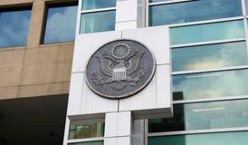 Федеральное правительство уплотнения Соединенных Штатов стоковое изображение