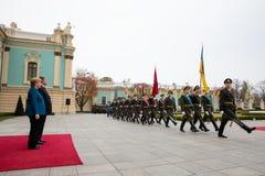 Федеральный канцлер Федеративной республики Германии Анджела Mer стоковое фото rf