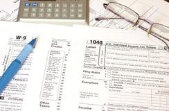 федеральный налог стоковые изображения rf