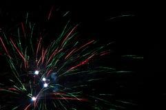 Феиэрверки в небе стоковое изображение rf
