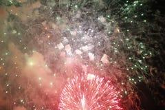 феиэрверки красные Стоковое Фото