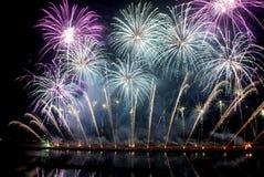 феиэрверки празднества фарфора восьмые международные Стоковое Изображение RF