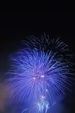 феиэрверки торжества достижения знаменующ Стоковая Фотография RF