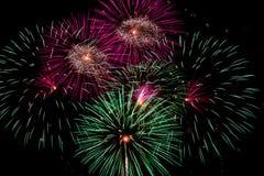 феиэрверки торжества четвертое -го июль стоковая фотография rf