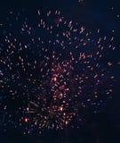 феиэрверк празднества Стоковое Изображение RF