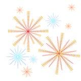 Феиэрверк иллюстрация вектора