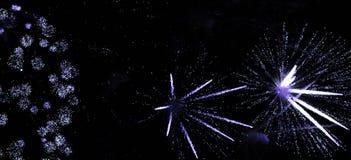 11 феиэрверк Стоковая Фотография RF