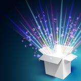 Фейерверки из коробки Стоковое Изображение RF