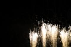 Фейерверки и фонарик Стоковая Фотография RF