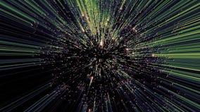 Фейерверки лазера - лазерный луч сортированного †цветов « акции видеоматериалы