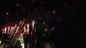 Фейерверки множественные феиэрверк Красочная ноча праздника atn фейерверков акции видеоматериалы