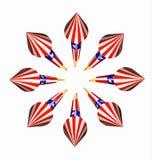 Фейерверки ракеты неба бутылки в полете Стоковое Изображение