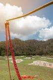 Фейерверки смертной казни через повешение указывают для разжигают огня для торжества o Стоковое Изображение